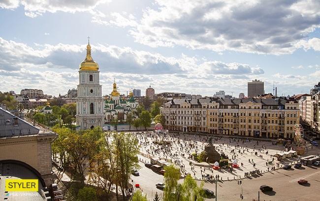 Фото: Оглядові майданчики Києва (РБК-Україна, Віталій Носач)