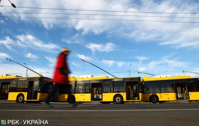 У Києві 14 жовтня громадський траспорт змінить схему руху