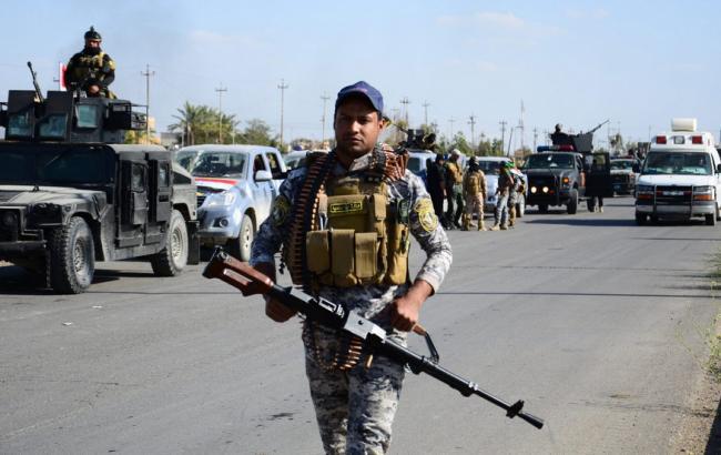 Фото: у Тікріті напали на КПП, після чого підірвали бомбу в місті