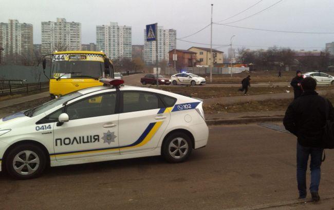 Захоплення маршрутки в Києві: поліція порушила кримінальну справу
