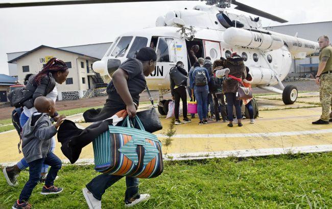 Виверження вулкана в ДР Конго: українських миротворців задіяли в евакуації