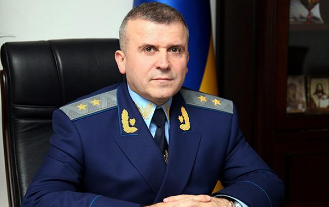 Екс-перший заступник генпрокурора Голомша оскаржив до суду своє звільнення