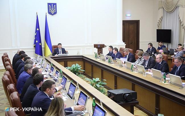 Фото: заседание Кабмина (РБК-Украина)