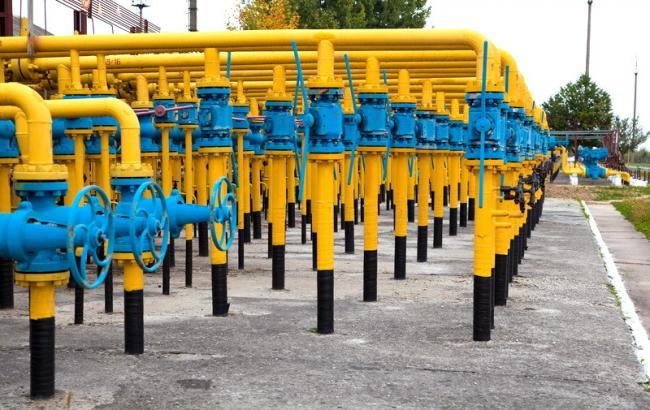 Запасы газа в ПХГ Украины увеличились на 0,15% - до 13,587 млрд куб. м