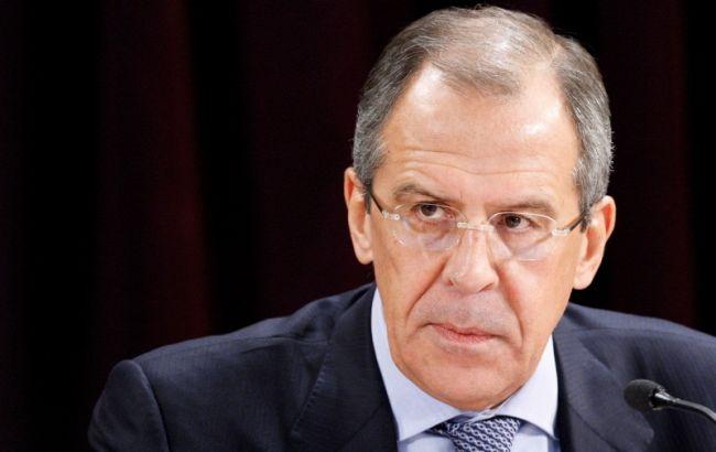 Фото: міністр закордонних справ РФ Сергій Лавров
