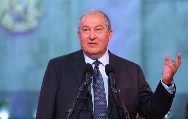 Президент Армении назвал условие признания Нагорного Карабаха
