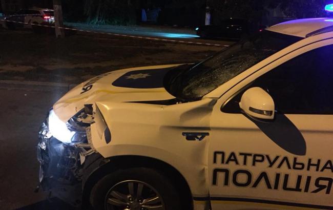 ДТП з патрульними у Чернівцях: прокуратура відкрила справу за фактом загибелі пішохода