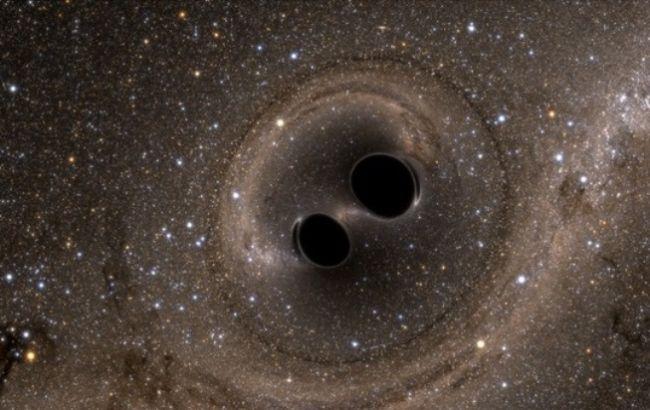 Фото: ученые впервые зафиксировали гравитационные волны