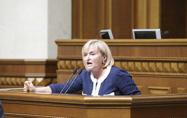 Законодательный проект ореинтеграции Донбасса нуждается вдополнительных консультациях— Ирина Геращенко
