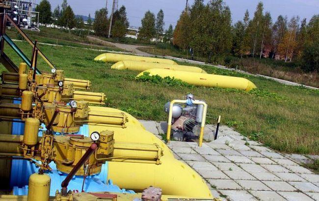 Украина использовала треть запасов газа соктября