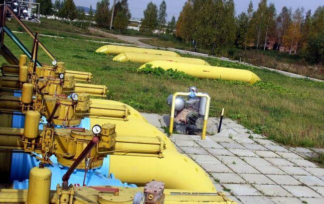 Фото: украинские подземные хранилища газа
