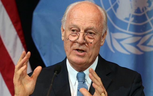 Фото: посланник ООН по Сирії Стеффан де Містура