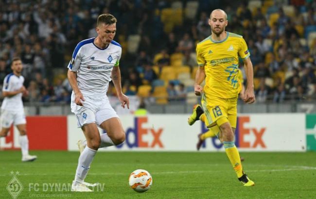 Астана - Динамо: онлайн трансляция (счет 0:1)