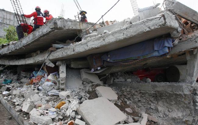 Землетрус в Еквадорі: число жертв досягло 350