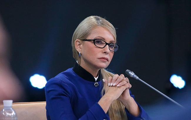 """Фото: лідер """"Батьківщини"""" Юлія Тимошенко (прес-служба партії)"""