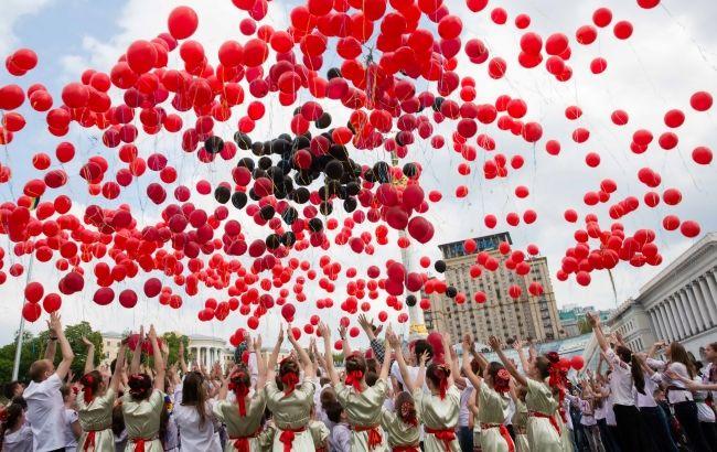 """флешмоб """"Квітка пам'яті"""" на 9 травня"""