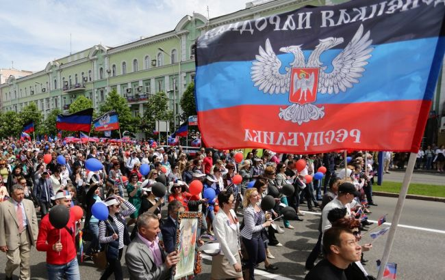 Фото: около трети населения ДНР не хотят восстановления контроля Киева