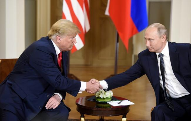"""Трамп назвав зустріч з Путіним """"дуже хорошим початком для всіх"""""""