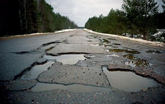 Фото: Разрушенные дороги в России