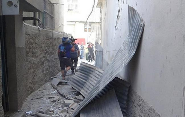 Фото: турецкий Килис снова попал под обстрел
