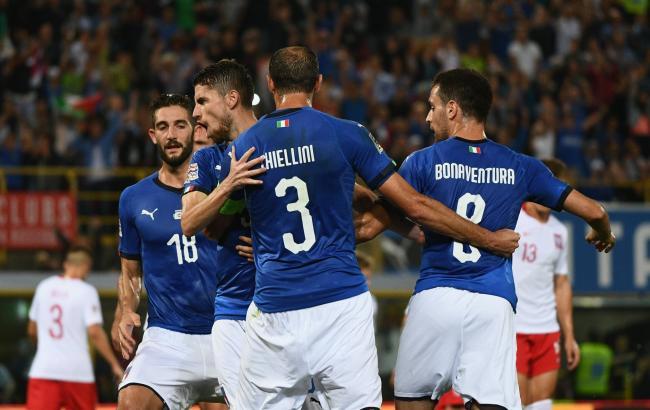 Состав сборной Италии в пять раз дороже игроков сборной Украины
