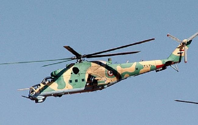 Фото: гелікоптер Мі-25