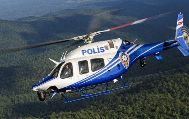 Предпосылкой падения полицейского вертолета вТурции могли стать погодные условия