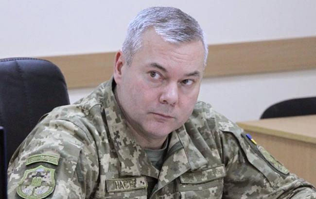 Наєв запевнив, що підготує ЗСУ до повного звільнення окупованих територій