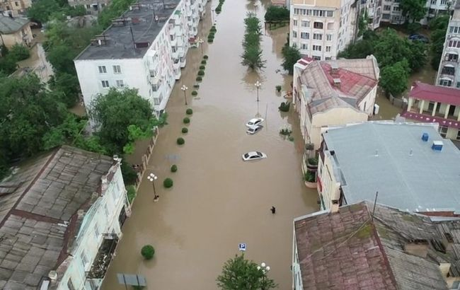 Наводнение в Крыму: оккупанты сообщили о пострадавших и погибших