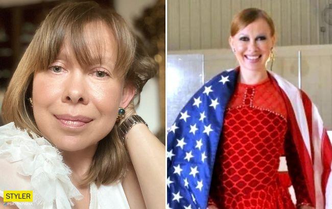 Оксана Баюл, яка відмовилася від українського громадянства, загорнулася у прапор США