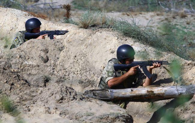Боевики обстреляли позиции ООС вблизи Луганска