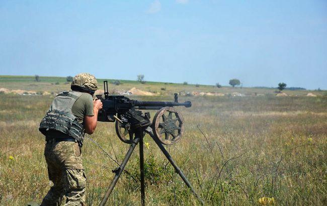 На Донбассе в результате обстрела погиб украинский военный