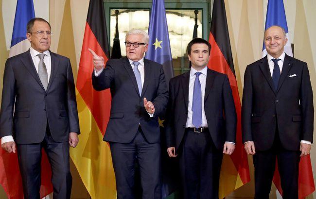 """У Берліні розпочалася зустріч глав МЗС """"нормандської четвірки"""""""