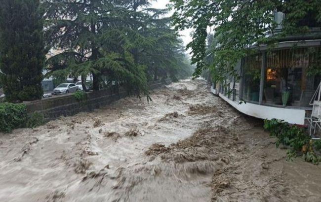 Потоп в Ялте: оккупанты сообщили о первом погибшем
