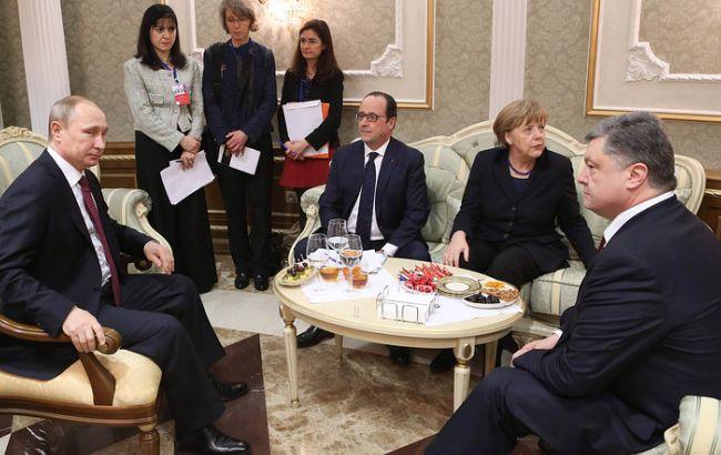 Песков оценил готовность кпроведению встречи лидеров «нормандской четверки»