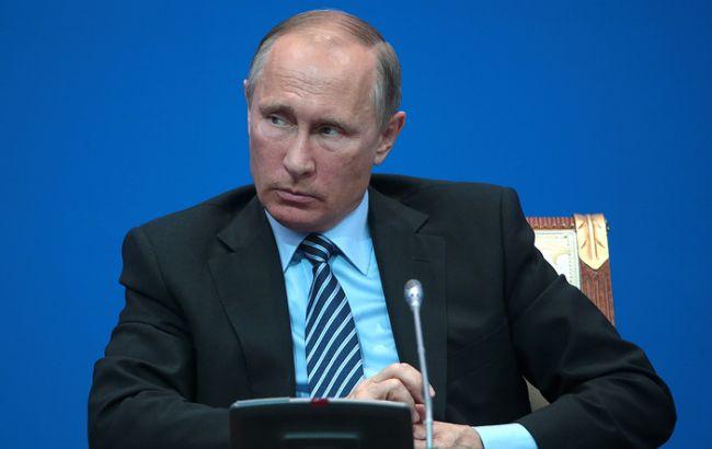 Фото: Путин на пресс-конференции