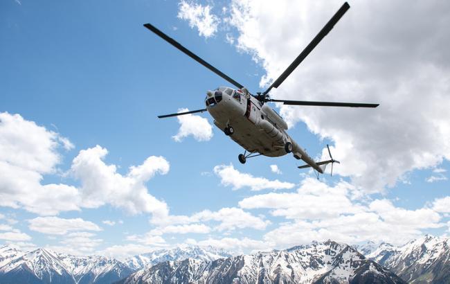 Фото: у Сочі зазнав аварії вертольота