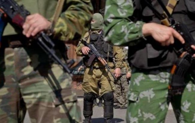 Фото: бойовики ДНР розігнали мітинг