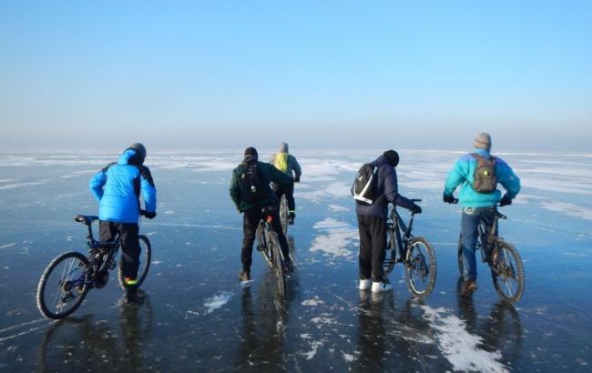 Фото: велосипедисти