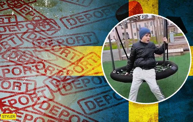 В Швеции отменили депортацию шестилетнего украинца, мать которого была найдена мертвой