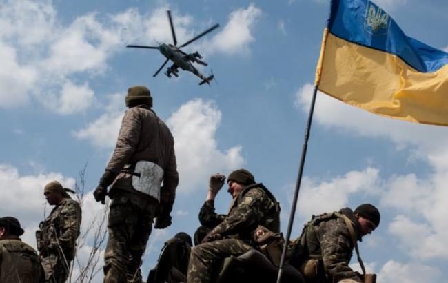 В зоне АТО за сутки погиб 1 украинский военный, 6 ранены, - СНБО