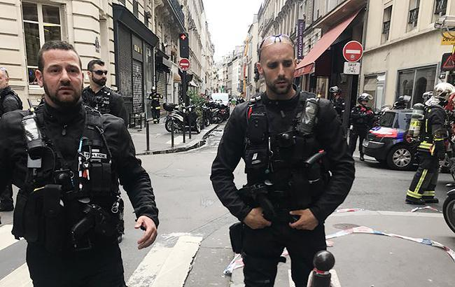 Фото: поліція Парижа (twitter.com PGrasset1)