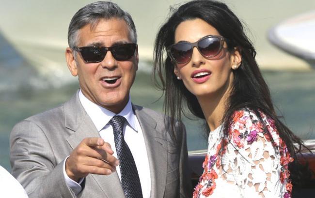 Джордж і Амаль Клуні чекають двійню