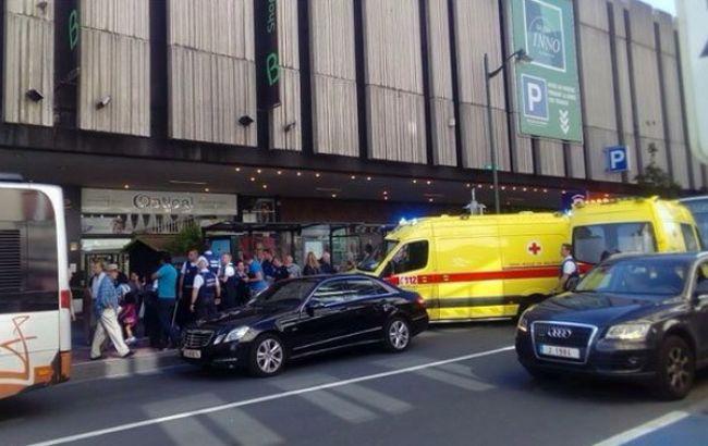 ВБрюсселе женщина смачете напала напассажиров автобуса