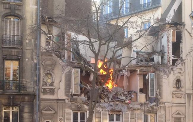 Под Парижем вжилом доме произошел взрыв
