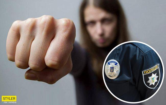Во Львове женщина напала на патрульных: сообщила о домашнем насилии