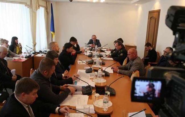 Фото: заседание комитета по нацбезопасности (rada.gov.ua)