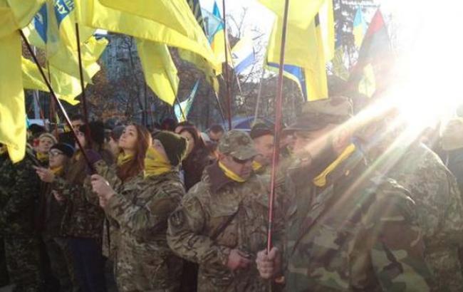 В Киеве более 3 тыс. человек принимают участие в Марше достоинства