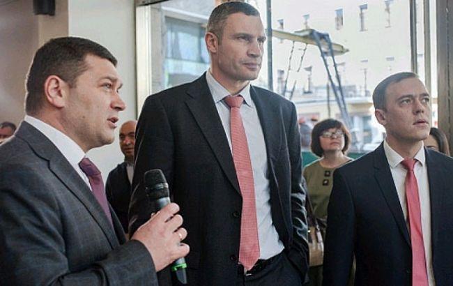 Фото: презентация проектов развития медицины Киева