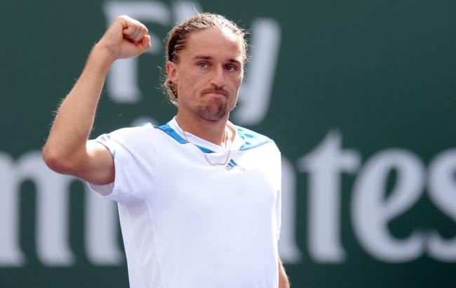 Долгополов одержал победу  уиспанца Ферреро впервом круге теннисного турнира вРио-де-Жанейро